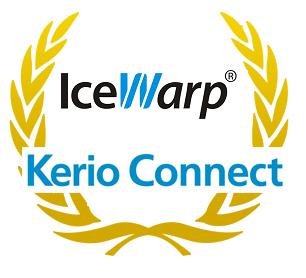 Kerio and Icewarp logos