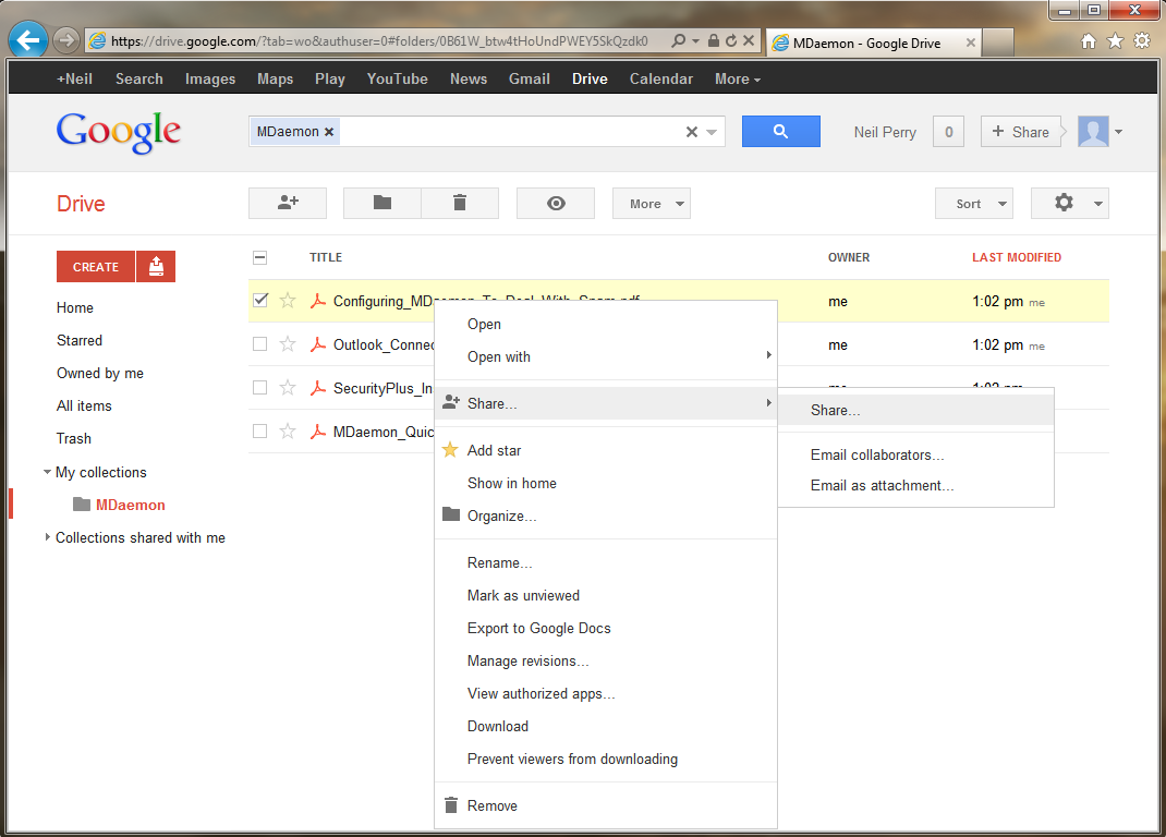 Google Docs: Are Your Files Too Big To Send Via Email? Three Possible