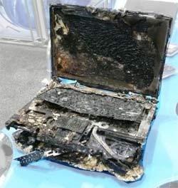 It'll polish out - laptop