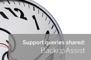 BackupAssist Technical Support Insight