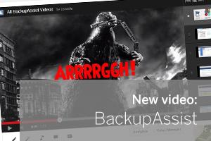 BackupAssist Backup Software - New Video