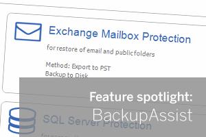 Exchange Granular Restore Console Feature Spotlight