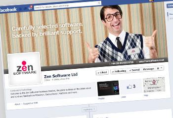 Zen Software's Facebook page