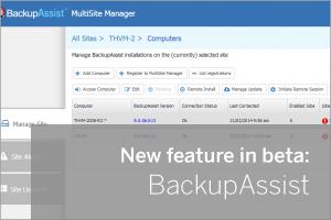BackupAssist Beta