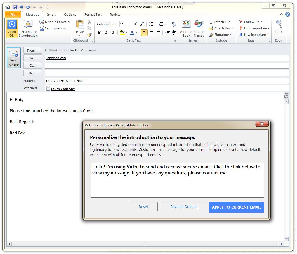 Easy Email Encryption Using MDaemon and Virtru | Zen Software | Blog