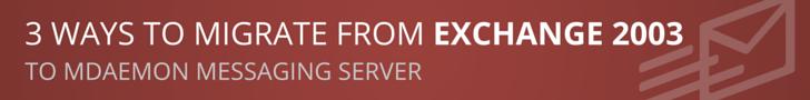 MDaemon Exchange 2003 Bundle Offer