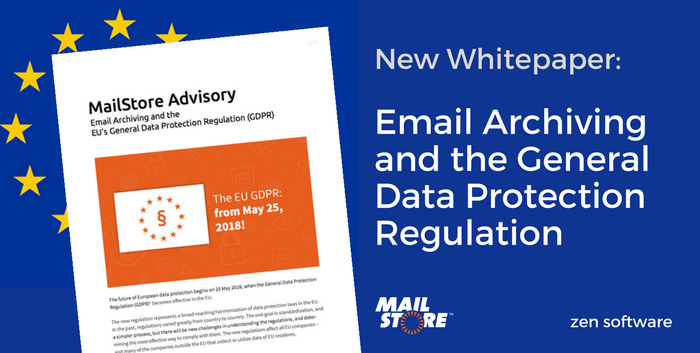 MailStore Email Archiving and GDPR