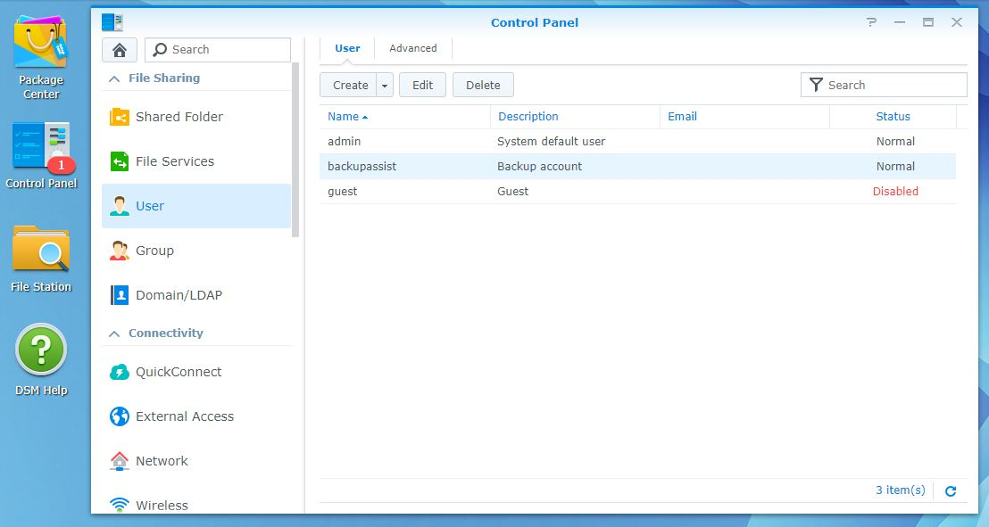 Off-site Backup to a NAS Device Using BackupAssist (Synology