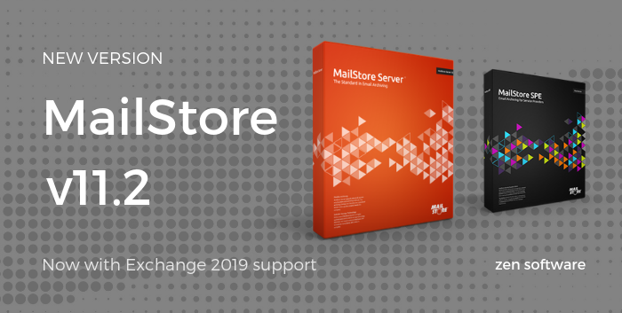 MailStore v11.2 with Exchange Support