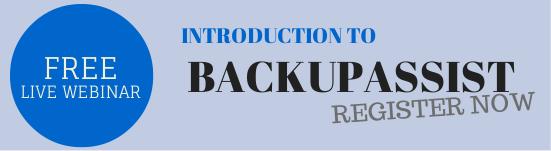 BackupAsssist webinar sign-up